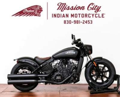 2020 Indian Scout® Bobber ABS Thunder Black Smoke Black for sale craigslist