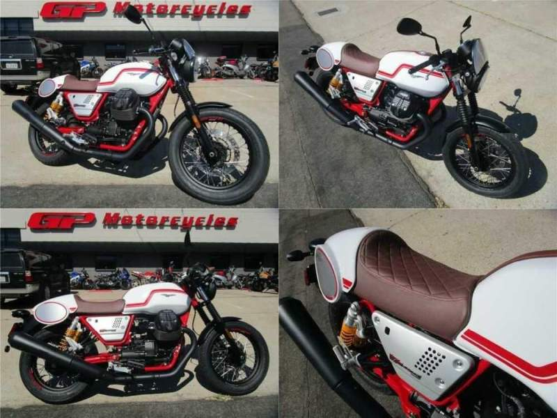 2020 Moto Guzzi V7 V7 III Racer White for sale