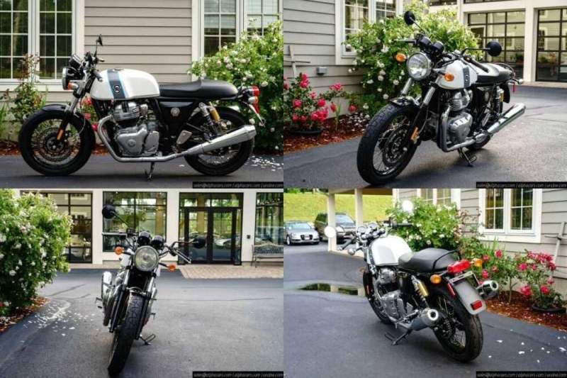 2020 Royal Enfield Continental GT 650 Ice Queen for sale