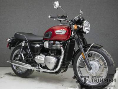 2020 Triumph Bonneville CRANBERRY RED for sale
