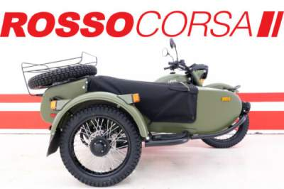2020 Ural Gear Up (2WD) Green for sale