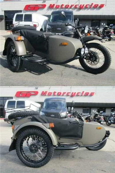 2020 Ural Gear Up 2WD Green for sale craigslist