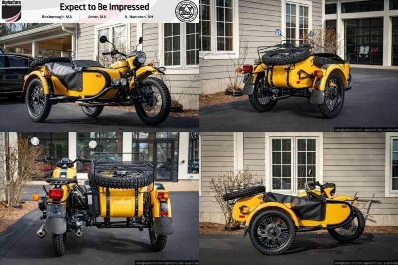 2020 Ural Gear Up Black & Yellow Black for sale