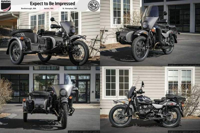 2020 Ural Gear Up Slate Grey Custom Gray for sale