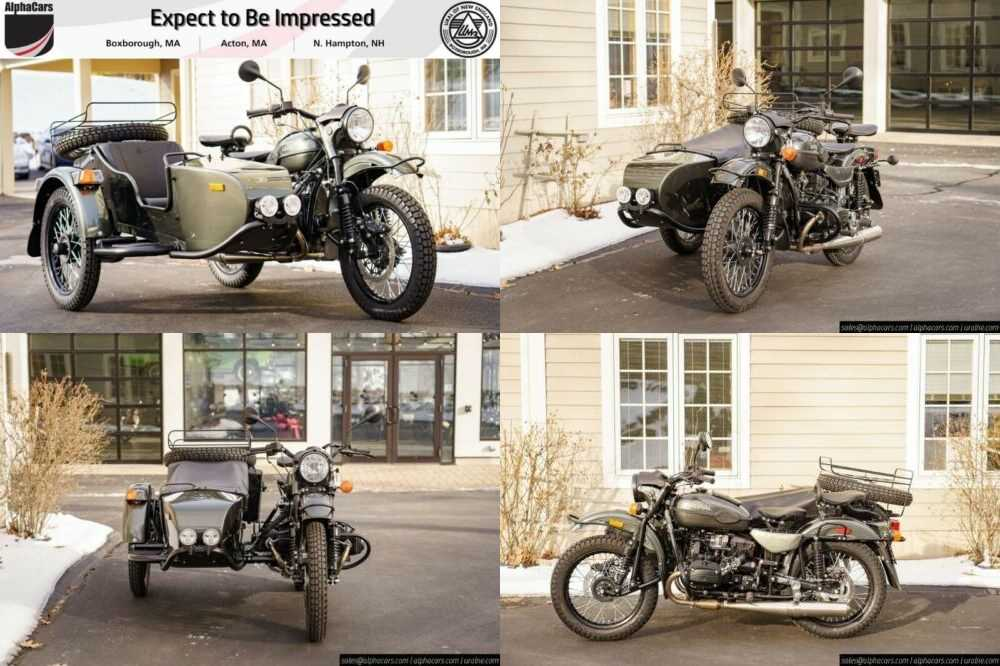 2020 Ural Gear Up Cascade Green Green for sale craigslist