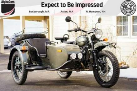 2020 Ural Gear Up Cascade Green Green for sale