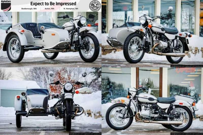 2020 Ural Limited Edition FRWL Silver for sale