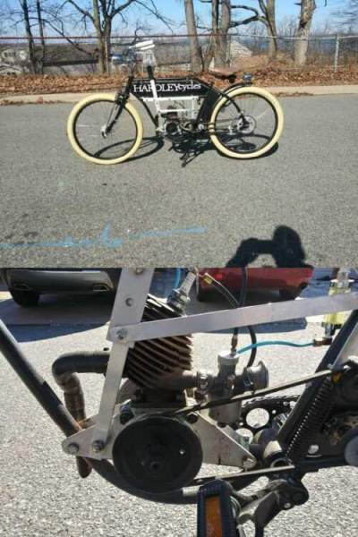 1913 Other Makes PRE-WAR BICYCLE FRAME/VILLIERS ENGINE Black for sale craigslist