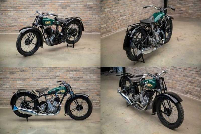 1930 BSA H31-S Sloper Deluxe Green for sale craigslist photo
