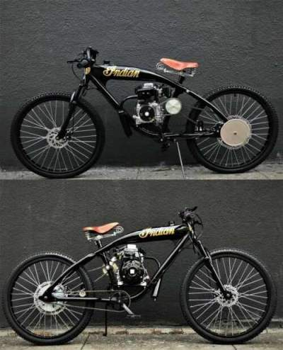 1930 Indian STEEL BUFFALO MOTORS board track Cruiser Gloss black/patina/gold for sale craigslist