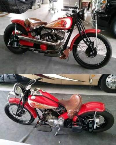 1940 Indian Chief Custom Painted, Red for sale
