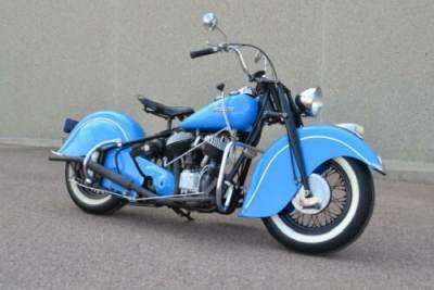 1946 Indian Chief Blue for sale
