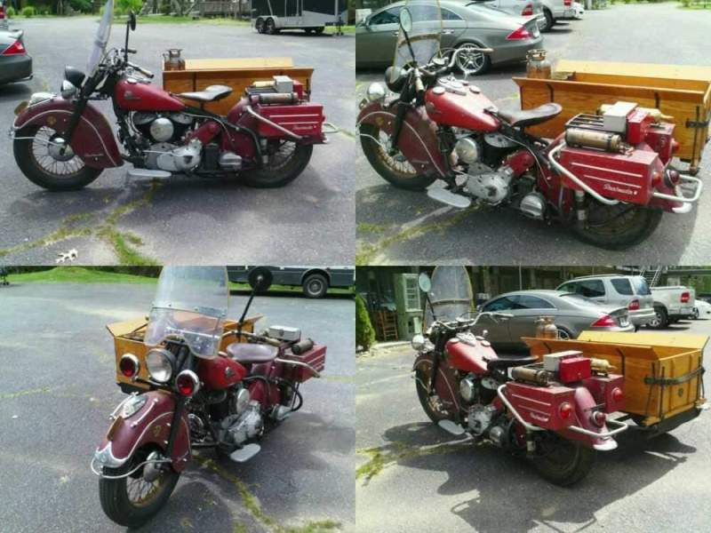 1946 Indian Chief Red for sale craigslist