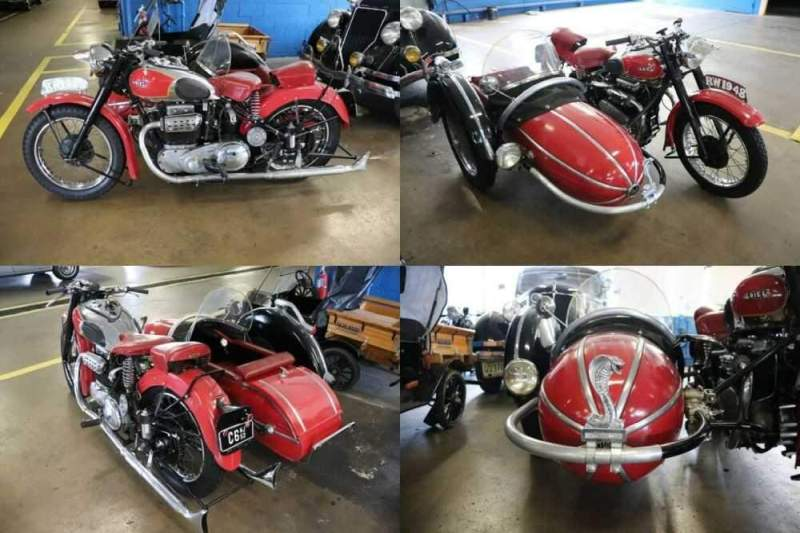 1948 Other Makes Square Four Red for sale