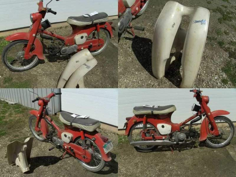1964 Honda C100 Red for sale