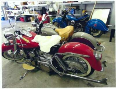 1965 Harley-Davidson Pan Head Red for sale