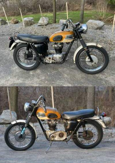 1965 Triumph Trophy Gold for sale