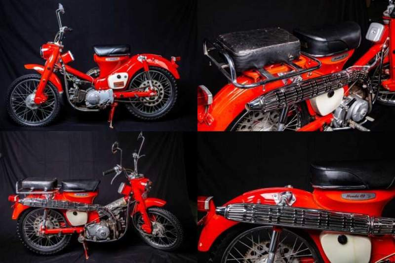 1966 Honda ct200 Red for sale