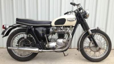 1966 Triumph Bonneville White for sale craigslist photo