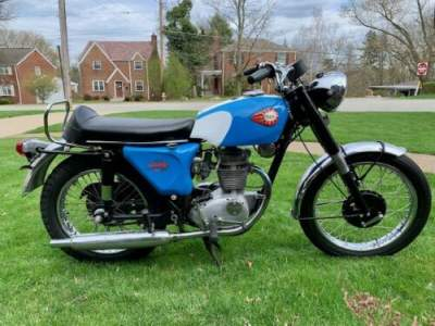 1967 BSA Starfire BSA Starfire 250 cc Blue for sale craigslist photo