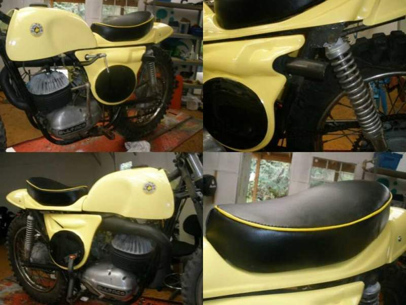 1967 Bultaco MODEL 11 METISSE Yellow for sale