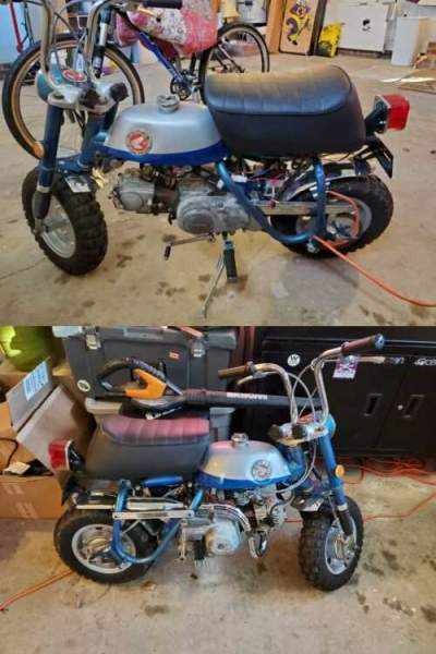 1969 Honda 1969 Honda Z50 Mini Trail Blue for sale