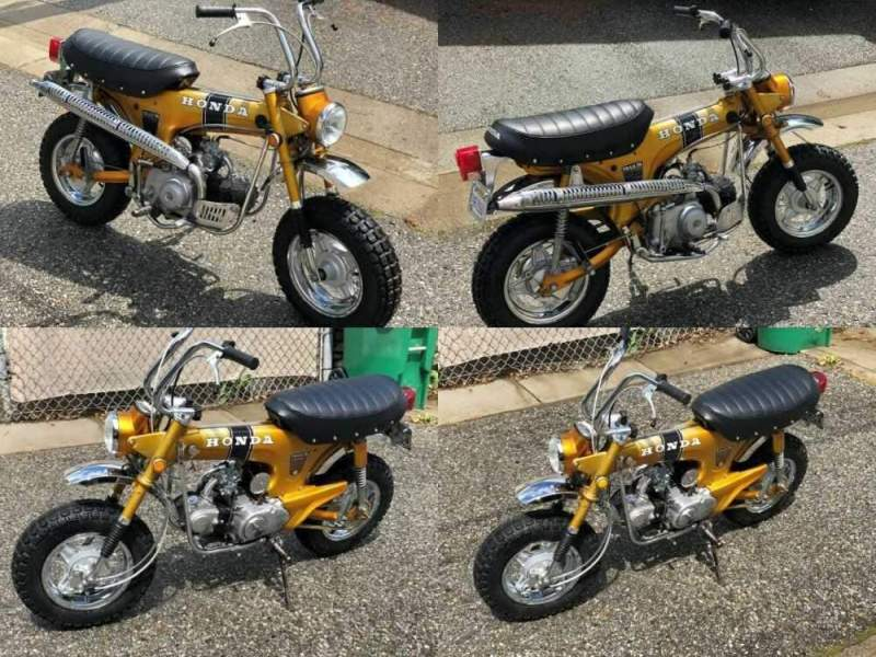 1969 Honda CT70 Gold for sale