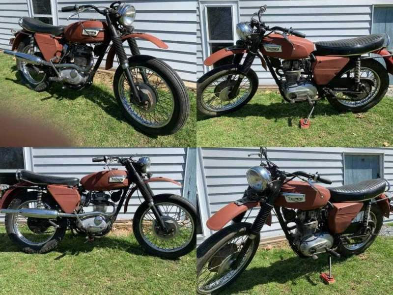1969 Triumph Trophy  for sale craigslist photo