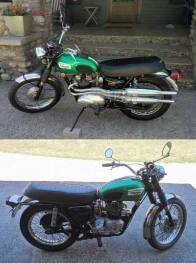 1969 Triumph Trophy Green for sale craigslist