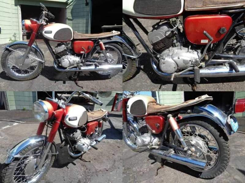 1969 Yamaha YDS3 for sale craigslist