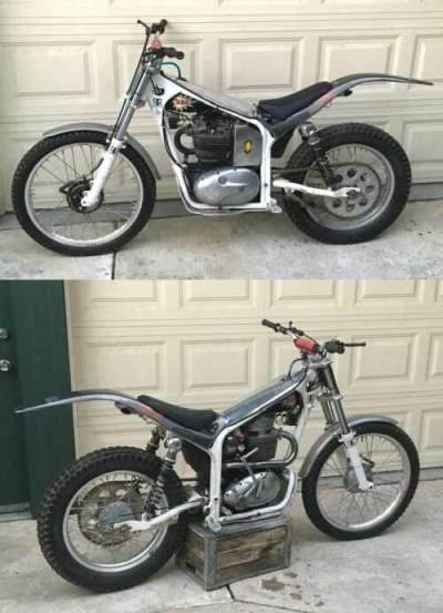 1970 BSA TRIALS White for sale craigslist photo