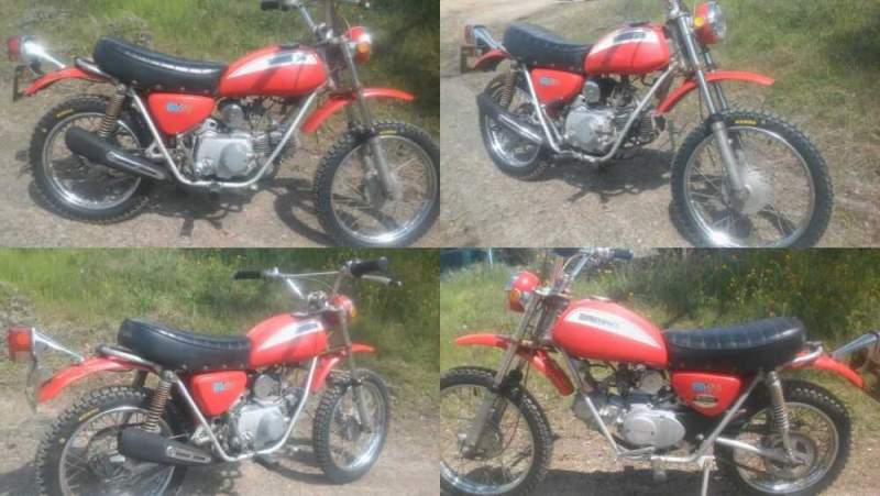1971 Honda Honda SL70 Red for sale