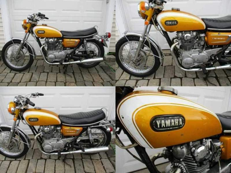 1971 Yamaha XS Gold for sale