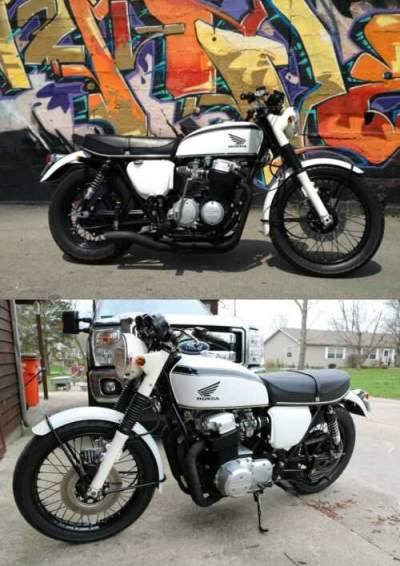 1972 Honda CB White for sale