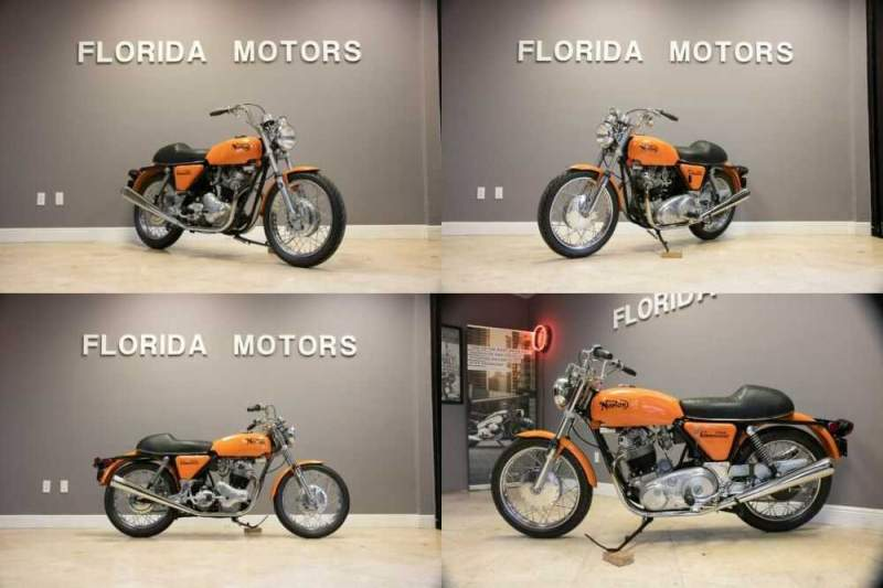 1972 Norton COMMANDO 750 Orange for sale craigslist photo