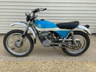 1973 Bultaco Alpina 250 Blue for sale craigslist photo