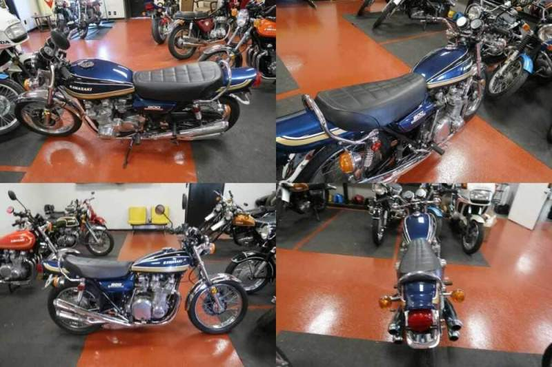 1975 Kawasaki Z1 900 Blue for sale craigslist photo