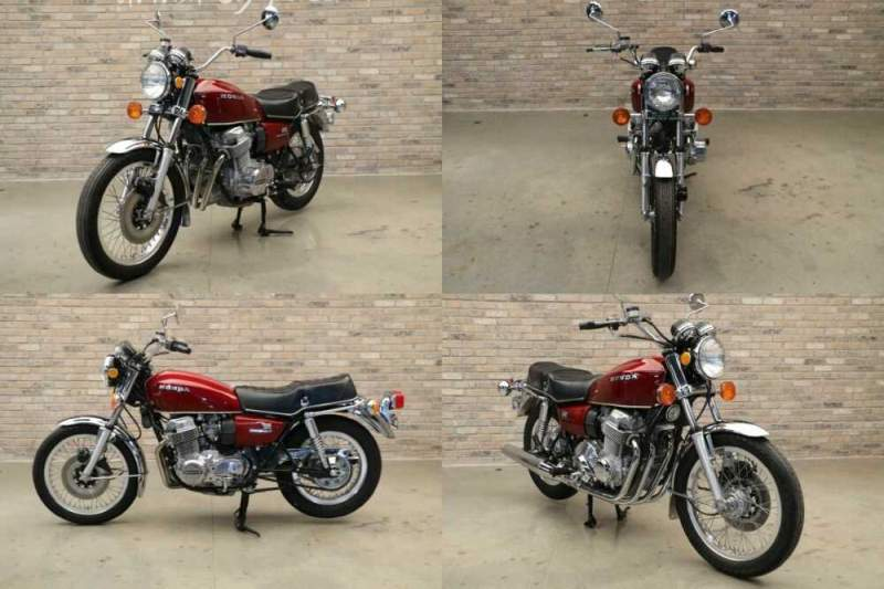 1976 Honda CB Hondamatic Red for sale