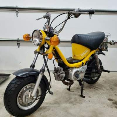 1976 Yamaha Yamaha chappy 80 LB80 LB-80 Yellow for sale craigslist