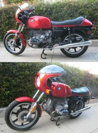 1977 BMW R-Series Red for sale