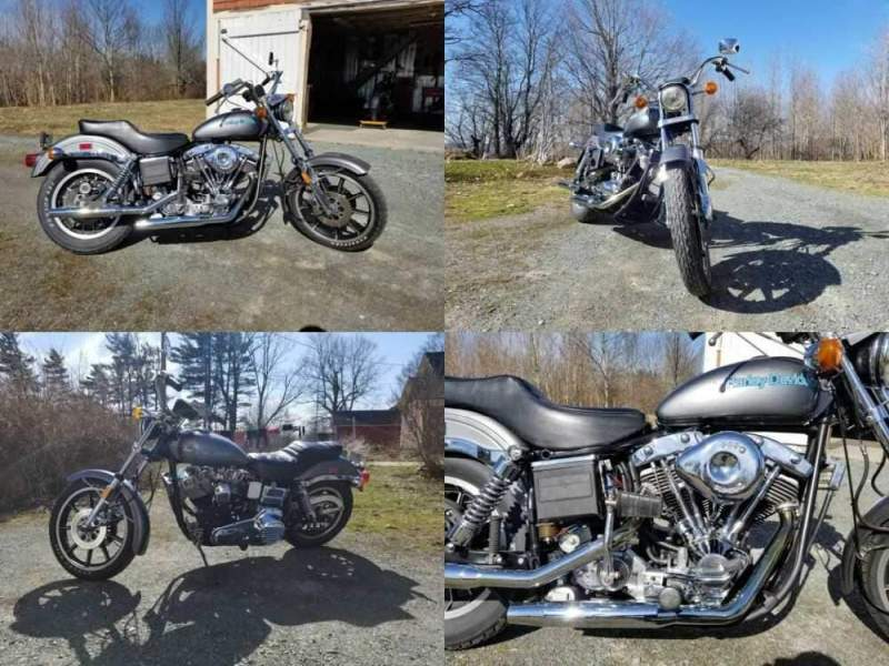 1977 Harley-Davidson FXE Gray for sale craigslist