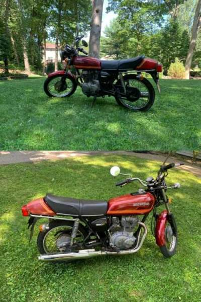 1977 Honda CB Red for sale craigslist photo