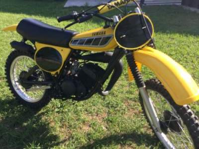 1977 Yamaha Yz 100 D MX Yellow for sale craigslist photo