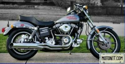 1978 Harley-Davidson Low Rider FXS shovelhead Gray for sale