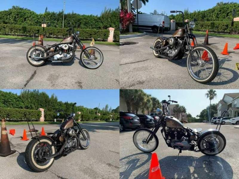 1980 Harley-Davidson Bobber  for sale craigslist photo