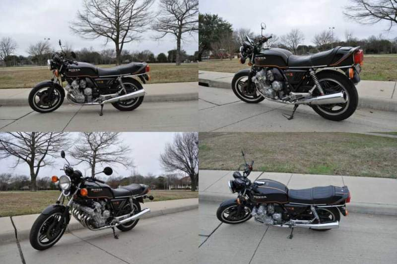 1980 Honda CBX Black for sale craigslist