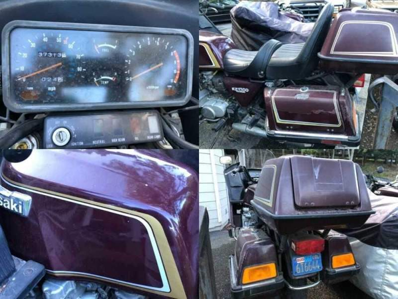 1980 Kawasaki KZ1300 Maroon for sale