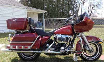 1981 Harley-Davidson Touring Black for sale