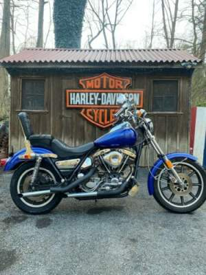1982 Harley-Davidson FXR Blue for sale craigslist