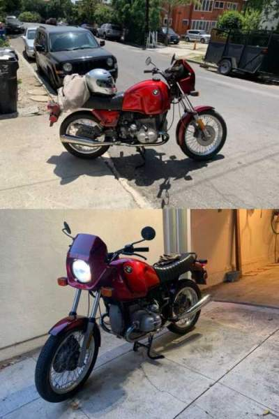 1983 BMW R-Series Red for sale